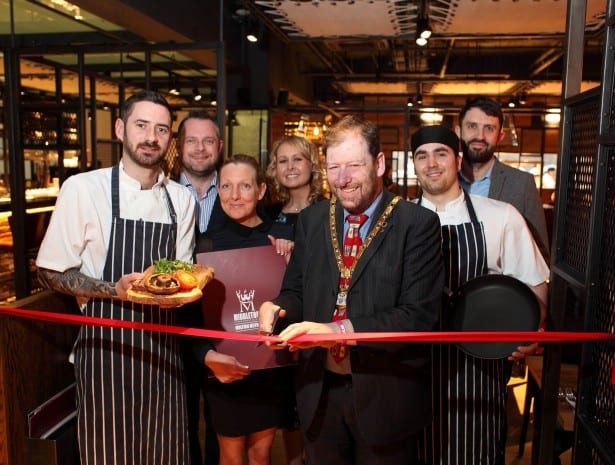 Opening of Middletons Steakhouse & Grill