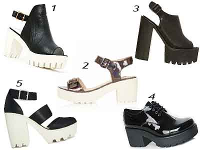 Cleated Heels Selection