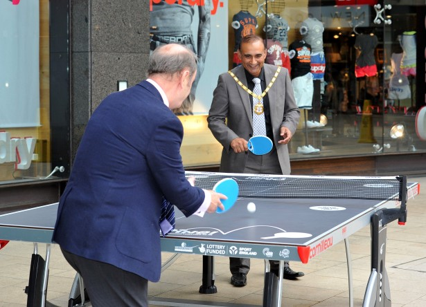 Table Tennis at INTU 15