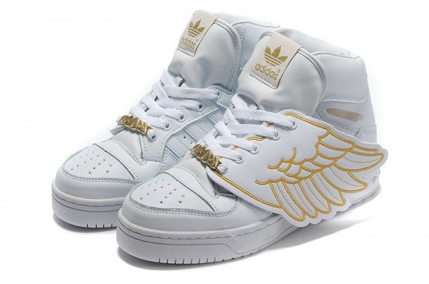 Adidas Jeremy Scott Wings White Gold