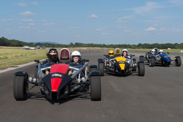 The Ariel Atom at the Top Gear Track Experience