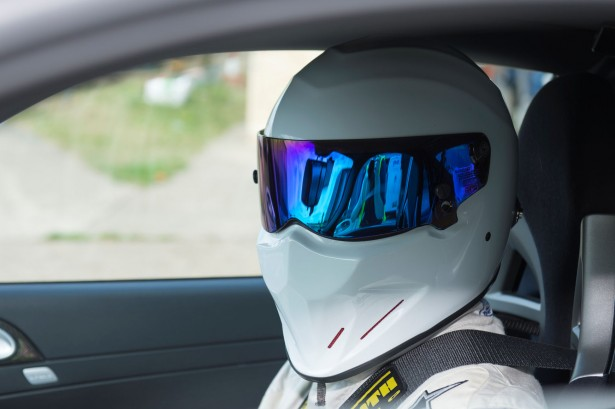 The Stig at the Top Gear Track Experience