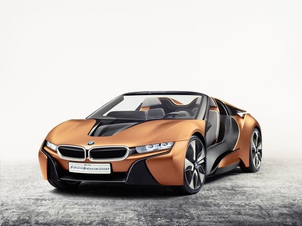 BMW i8 new for 2017