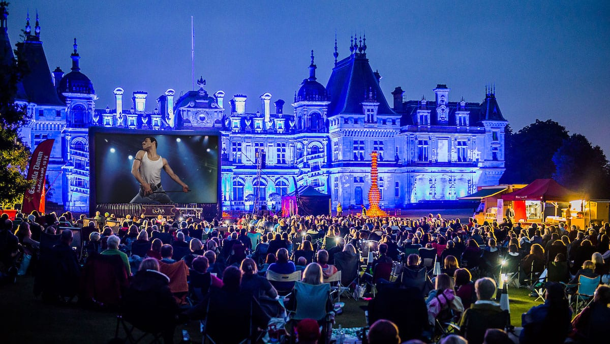 What's on at Waddesdon, August 2019 - Bohemian Rhapsody, Luna Cinema. Image (c) Waddesdon, A Rothschild House & Gardens
