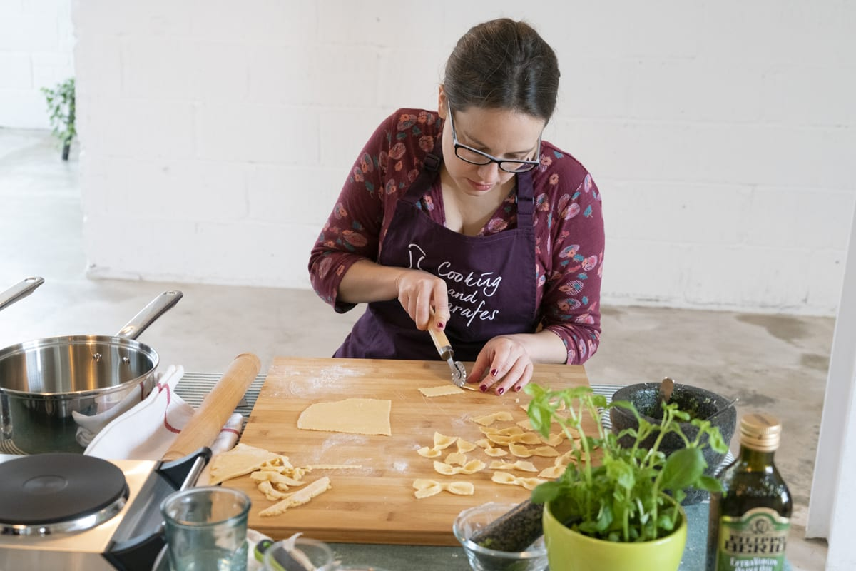 Master the art of pasta making with Cooking and Carafes workshop