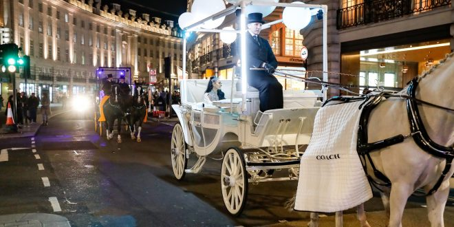 Coach Brings American Optimism To London With A Surprise New York-Style Halloween Parade, Led By Maya Jama