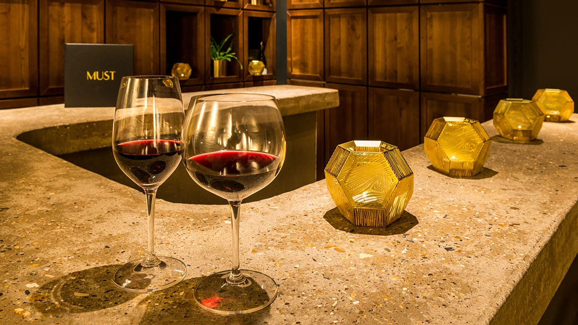 Have a glass or two at Must Wine Bar Harpenden
