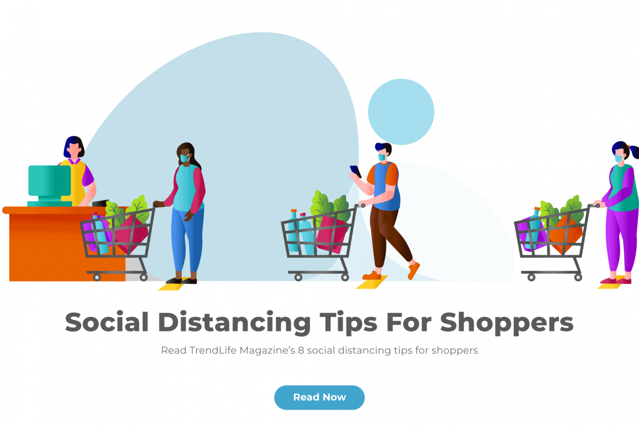 Social distancing tips for shoppers
