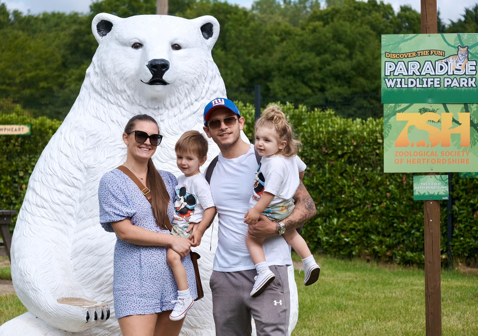 Paradise Wildlife Park is open to the public
