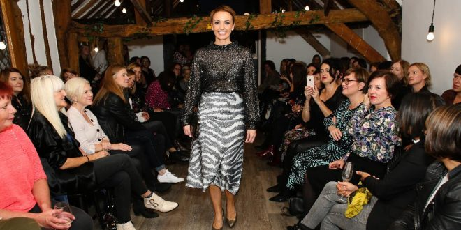Chloe James Lifestyle - St Alban's Fashion Show