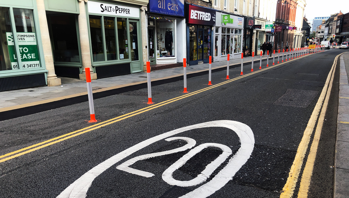 Would Bedford benefit from being pedestrianised?