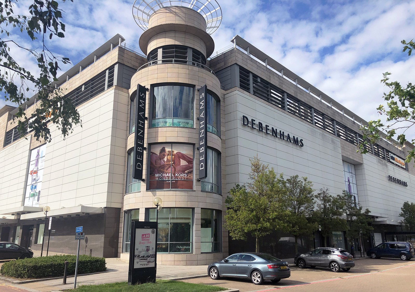 Debenhams in Milton Keynes