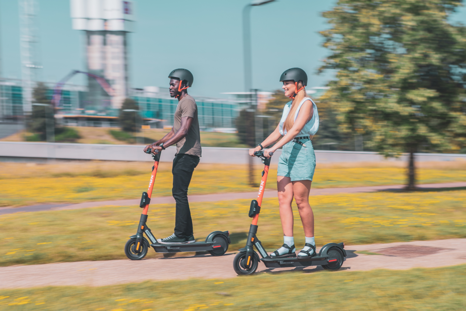 E-Scooters are suitable for both commuting and leisure purposes