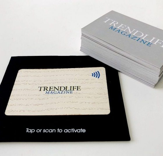 V1CE Business cards replace traditional cards