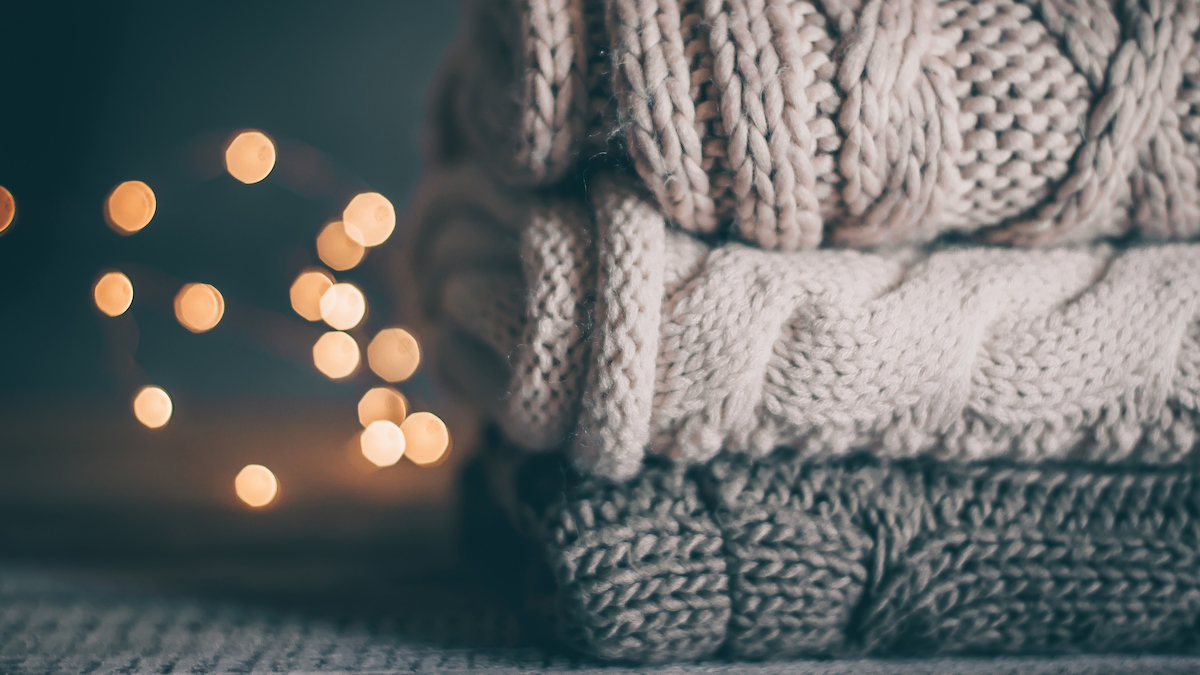 Winter fashion trends - Super cosy knit