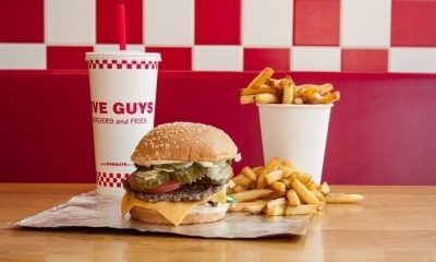 Could this be a big clue for a Five Guys in Stevenage