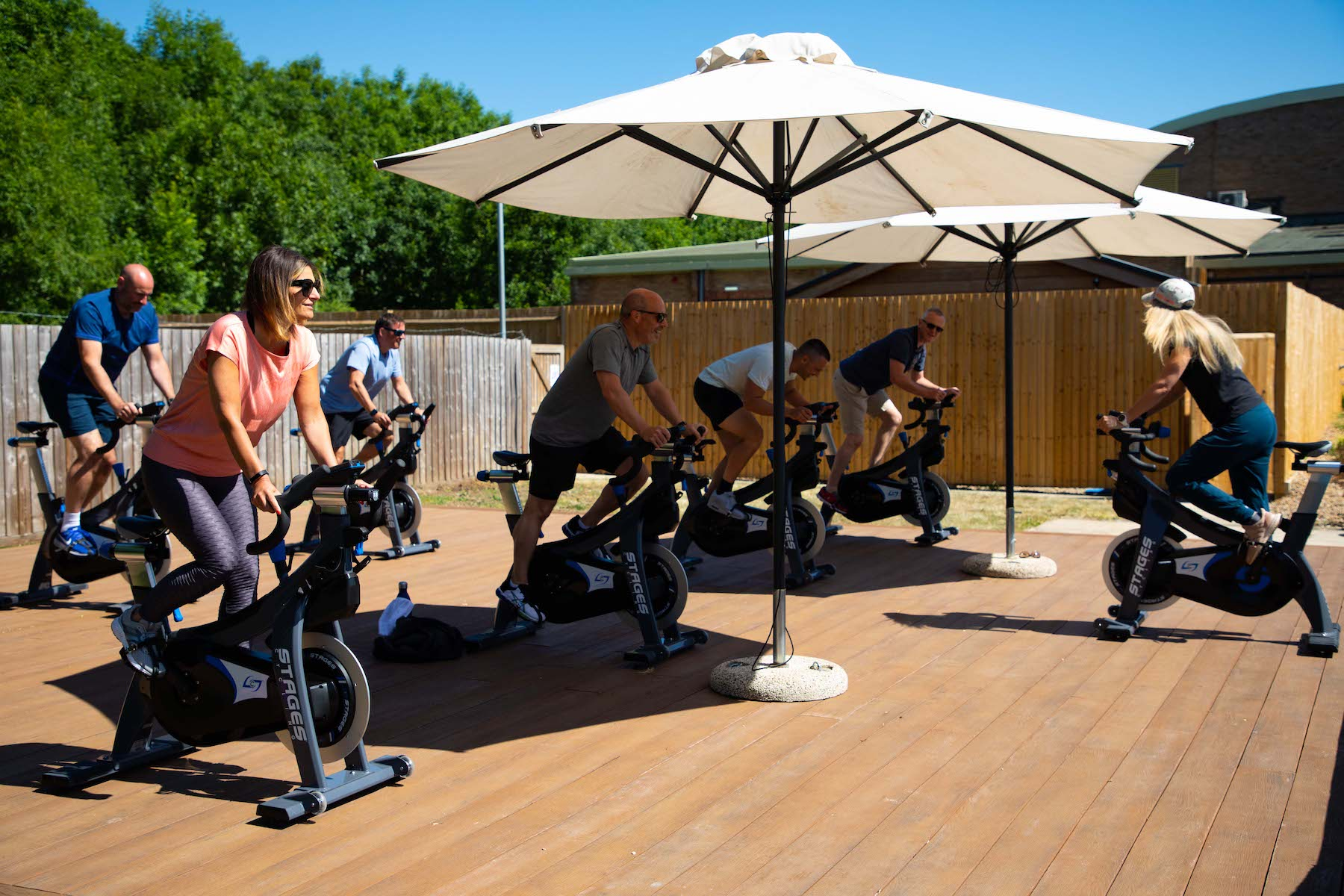Luton and Milton Keynes David Lloyd reopen for outdoor fitness