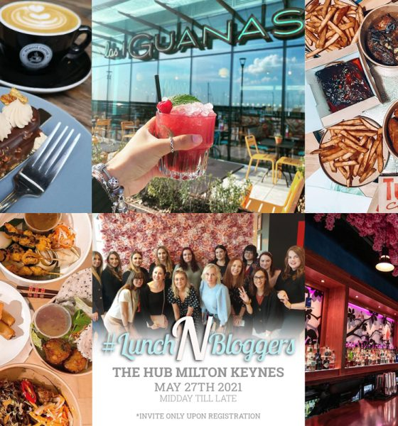 The Hub Milton Keynes Host #lunchNbloggers for the first time
