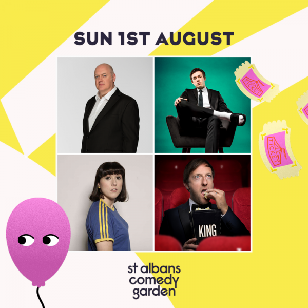 After a difficult 18 months of lockdowns and restrictions, St Albans residents can look forward to a laugh in the park as St Albans Comedy Garden brings laughs to Verulamium Park